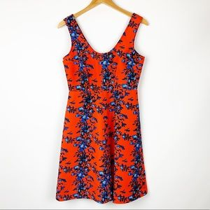 Plenty Tracy Reese Fit And Flare Floral Dress